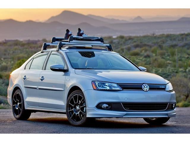Volkswagen Jetta Gli Base Carrier Bars And Snowboard Ski
